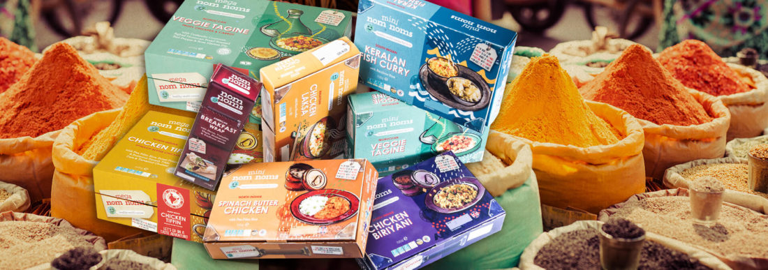 Pioneering British World Food brand launches at Australia's Fine