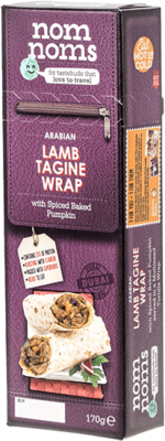 Arabian Lamb Tagine Wrap
