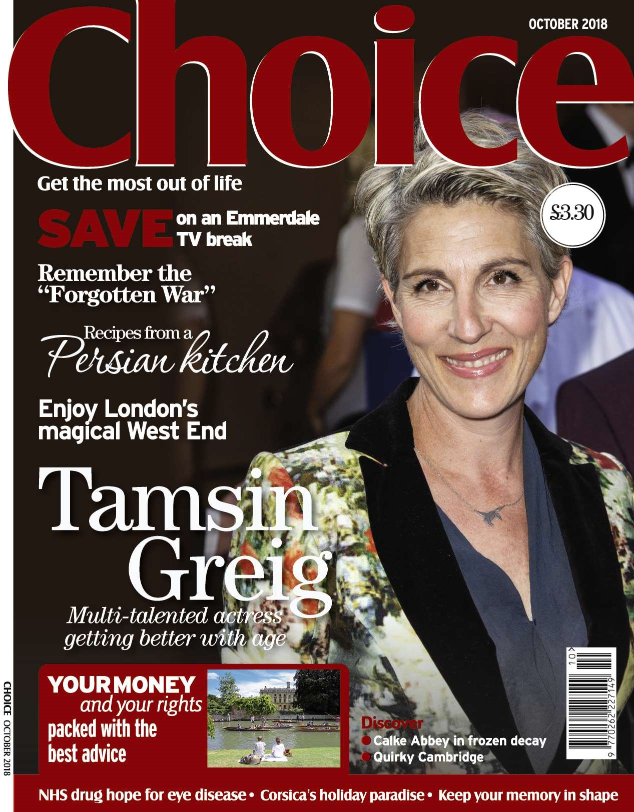 Choice Magazine's October 2018 issue