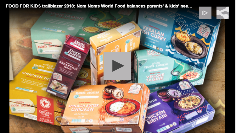 FOOD FOR KIDS trailblazer 2018: Nom Noms World Food balances parents' & kids' needs with innovative packaging