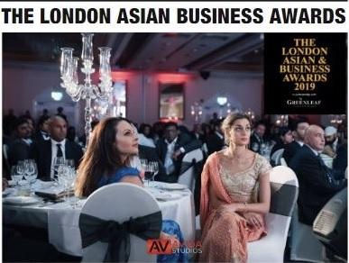 THE LONDON ASIAN BUSINESS AWARD